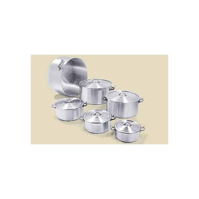 Cacerola gastron mica aluminio c tapa for Cacerolas industriales