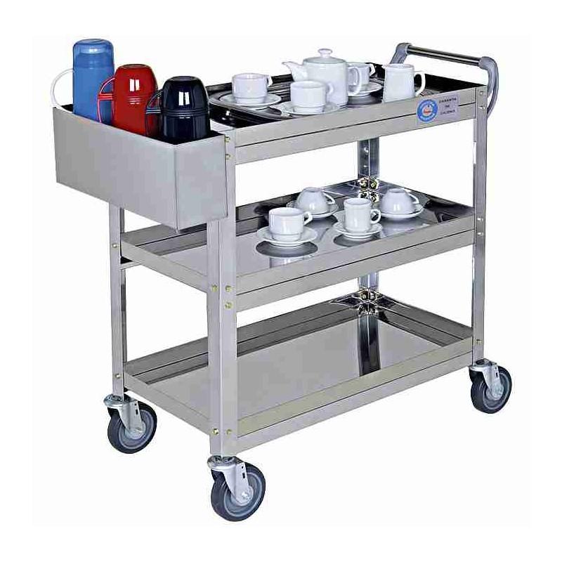 Carro de servicio con porta botellas catering catalogo - Accesorios para catering ...