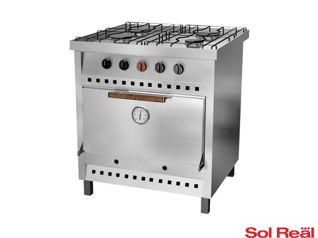 Cocina industrial sol real 4 hornallas for Cocina wok industrial